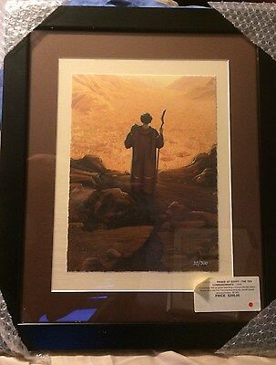 PRINCE OF EGYPT DreamWorks Giclee of the Ten Commandments #36/300