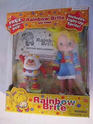 Rainbow Brite Doll w/Twink in Box Hallmark 2003
