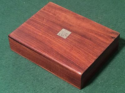 VINTAGE 1980 Wooden Boxed Set  VENICE SIMPLON ORIENT EXPRESS TRAIN PLAYING CARDS