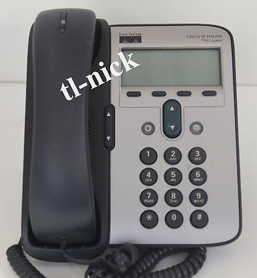 Cisco 7912 Unified IP Phone CP-7912G VoIP device Business Phone Handset PoE