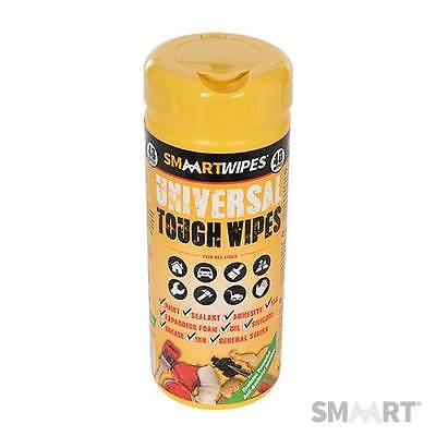 Smaart Universal Tough Wipes Pack Of 40