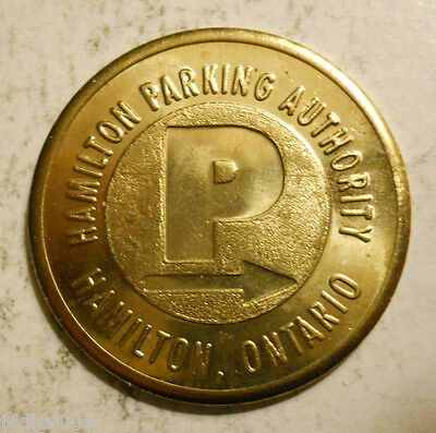 Hamilton, Ontario parking token - ON3400C