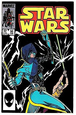 STAR WARS #96 (VF+) Luke Skywalker Cover Story! Marvel 1985 Copper-Age