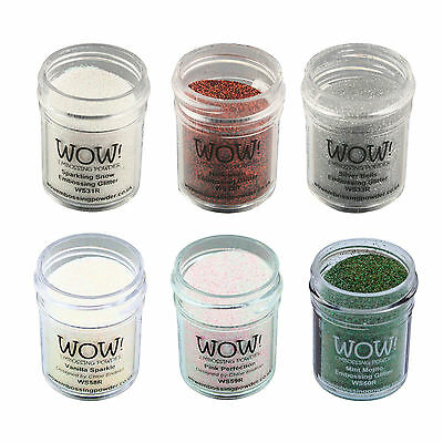 Wow! Glitter Embossing Powder 15ml - Colours 31 to 60