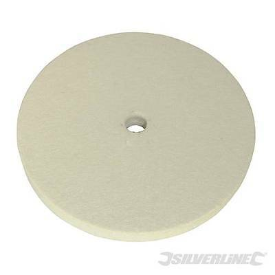 Silverline Sanding Felt Buffing Wheel 150Mm