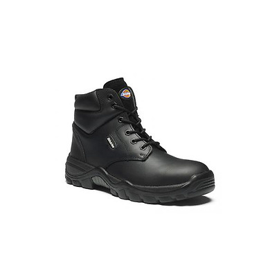 Dickies Newark Mens Safety Work Boot Black FD9003 Size 6-12