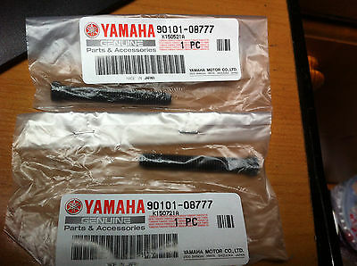 2 Genuine Yamaha  Rd350Lc Rd250Lc  Rd125Lc Dt360   Black Chain Adjuster Bolts