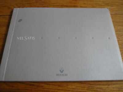 Really Nice, Prestige, Press Only, Renault Vel Satis Brochure