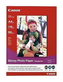 Canon Glossy Photo Paper A4 100Shts  Ac New