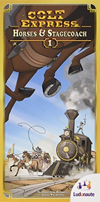 Colt Express Horses & Stagecoach Expansion  AC NEW