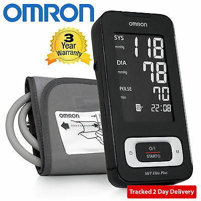 Omron MIT-Elite Plus Fully Automatic Digital Blood Pressure Monitor & PC Bi-Link