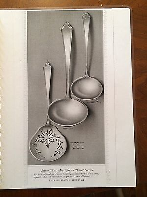 Copy of International Minuet Sterling Silver Flatware Hollowware Catalog 32 Page