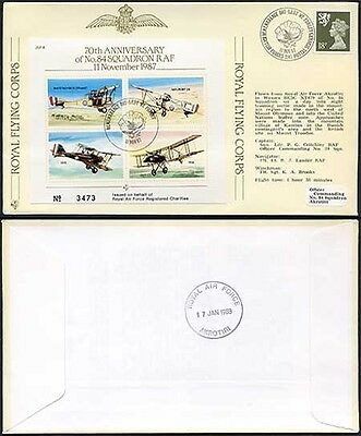 JSF4a 70th Anniversary of No.84 Squadron RAF Standard Cover