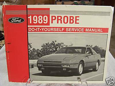 *NICE* 1989 Ford Probe Do-It-Yourself Service Manual