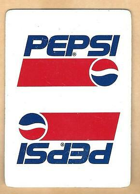 Vintage Pepsi Collectible Advertising Playing Card  Lot#1