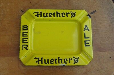 Huether's Ale Ashtray Kitchener Waterloo Ontario Brewery Huethers