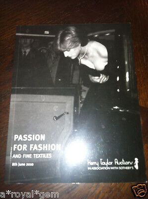 PRINCESS DIANA -CATALOG: PASSION FOR FASHION  (Kerry Taylor Auctions)