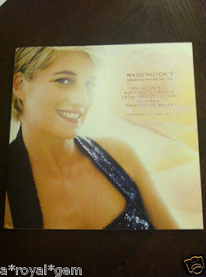 Princess Diana -Waddington Catalog: Important Auction Of Dresses From Collection