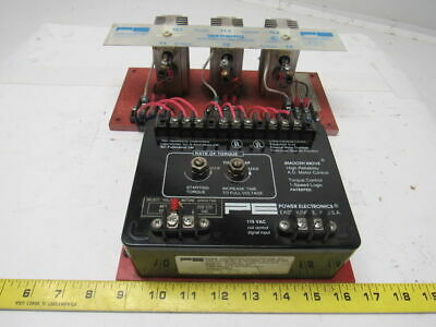 Power Electronics Intl BT746-1D Single Speed Soft Start Reduced Torque Control