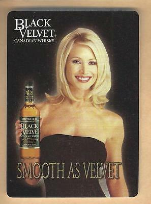 Vintage Black Velvet Canadian Whisky Collectible Playing Card Lot#2