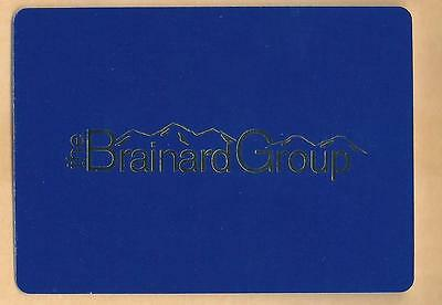 Vintage The Brainard Group Collectible Advertising Playing Card Lot#3