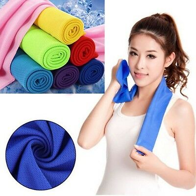 Running Practical Chilly Pad Sports Ice Towel Instant Cooling Enduring Cold