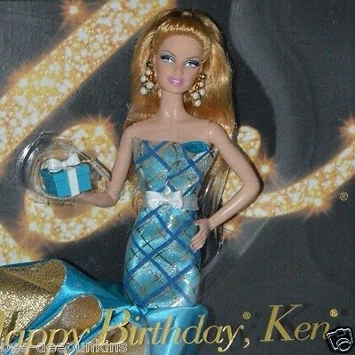 Barbie Happy Birthday Ken doll 50th Anniversary Pink Label Model 2010 NRFB