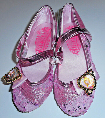 Disney Store Princess Aurora Sleeping Beauty Child Girl's Costume Shoes
