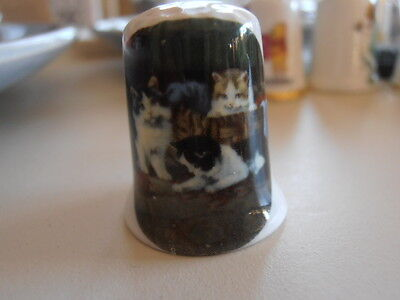 SALE Cats Kittens Thimble COMBINED P&P AVAIL