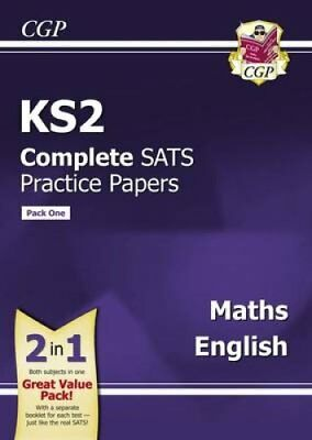 KS2 Maths and English Sats Practice Papers (Updated for the 201... 9781782947356