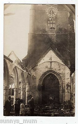 Berkshire, Wargrave, Ruined Church, Burnt Down By Suffragettes, Rp