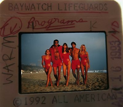 BAYWATCH STARRING David Hasselhoff PAMELA ANDERSON  ORIGINAL SLIDE 20