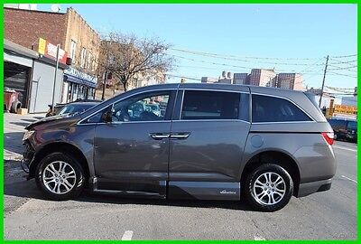 2013 Honda Odyssey EX VMI Northstar Accessible VMInorthstar Repairable Rebuildable Salvage Wrecked Runs Drives  Project Needs Fix Save Big