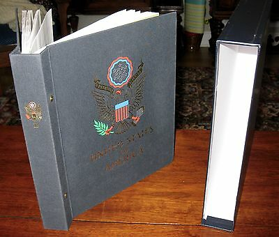 one DAVO USA VOLUME 2 STAMP ALBUM WITH DUST/SLIP COVER