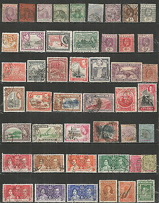 Great Britain colony  nice small collection  used stamps