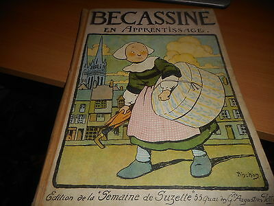 Becassine En Apprentissage 1919 Etat Moyen