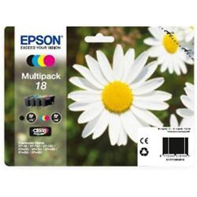 KIT Cartucce multipack ORIGINALE Epson T1806 (C13T18064012) per XP-315