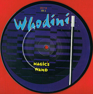 """WHODINI 'Magic's Wand' UK 7"""" Picture Disc 1982' Ideal For Framing Free UK Post."""