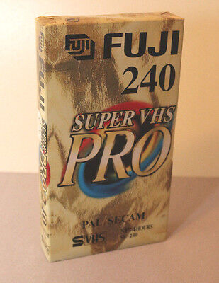 S-VHS Fuji 240 Super VHS Pro , NEU OVP, new sealed