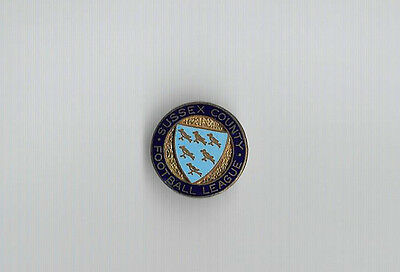 Vintage Football Badge - SUSSEX COUNTY FOOTBALL LEAGUE