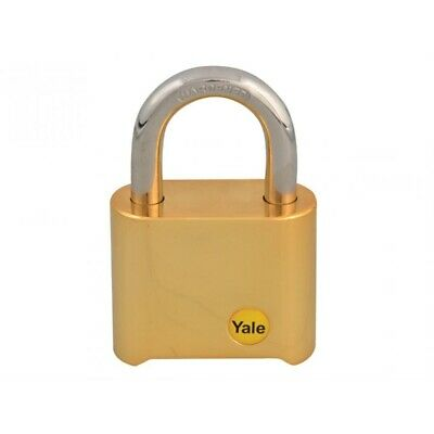 Yale Y126 50mm Brass Combination Padlock