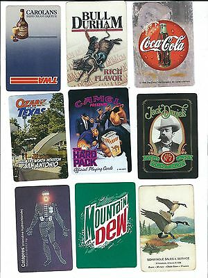 108 Advertising Playing Card Singles