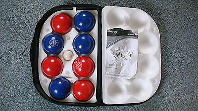 Pabst Blue Ribbon Bocce Ball Set with Carrying Case - Beer - Bocci Ball - Rare
