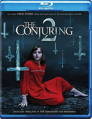The Conjuring 2 (Blu-ray Disc, 2016, Includes Digital Copy) Brand New,free  ship