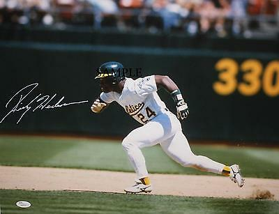 Rickey Henderson #2 Reprint Autographed Picture Signed Photo 8X10 Ny Yankees A's