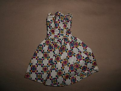 Vintage Barbie Clone  Babs Tressy Pretty Print Sundress Excellent