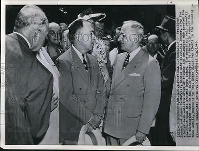 1946 Press Photo President Harry S. Truman & James Pendergast in Missouri