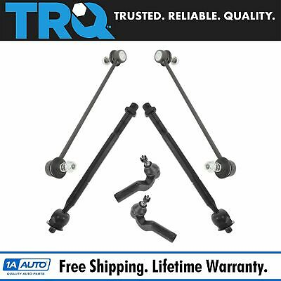 Steering /& Suspension Kit 8 Piece Ball Joints Sway Links Tie Rods for Mopar New