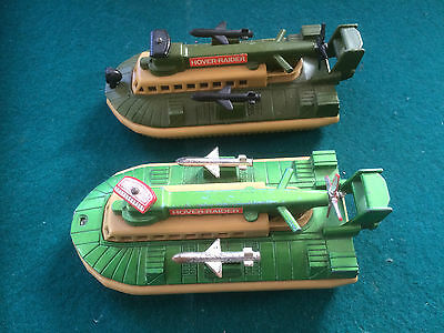 2 x Matchbox Battle-Kings K-105 Hover Raiders, different colours. Used.