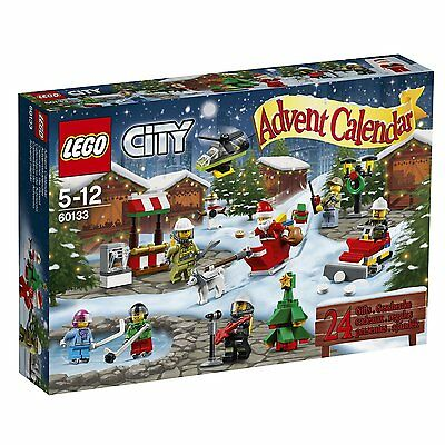 LEGO City 60133: 2016 Advent Calendar With 24 Buildable Toys & Figures